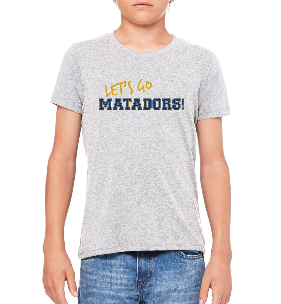 "SMHS Youth ""Let's Go"" T-shirt (Premium)"
