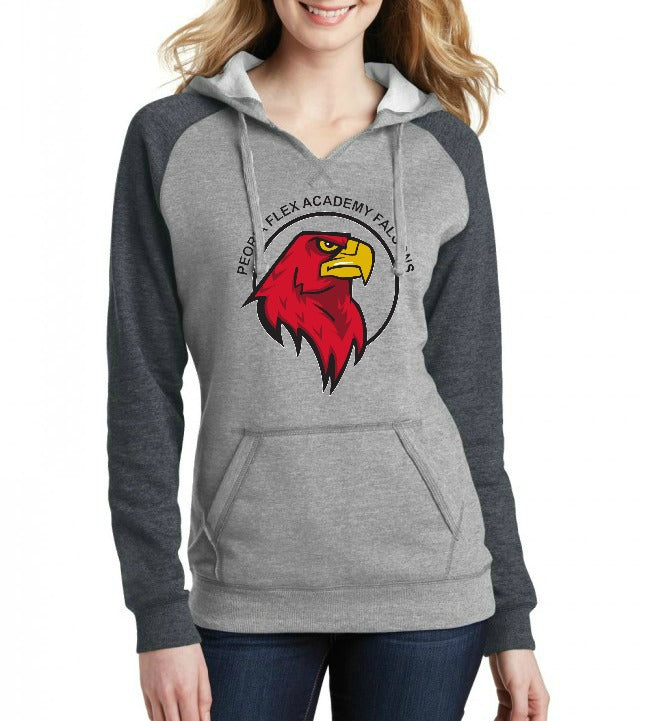 "Peoria Flex Academy Junior's ""Logo"" Lightweight Fleece Hoodie"