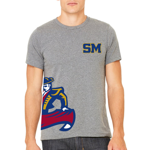 "SMHS Unisex ""Side Logo"" T-shirt"