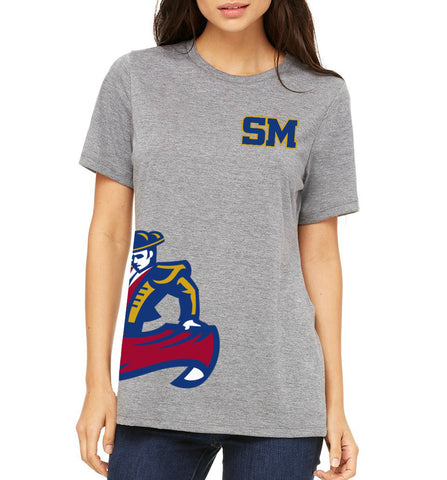 "SMHS Women's ""Side Logo"" T-shirt"