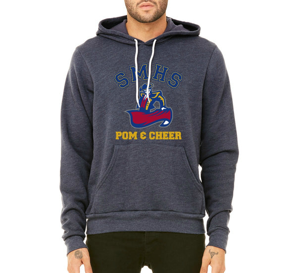 SMHS Pom & Cheer Unisex Mediumweight Pullover Hoodie