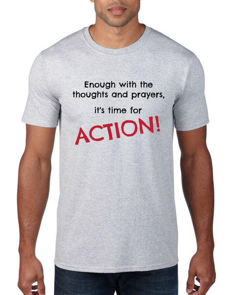 "CHARITY ""Time for Action"" T-shirt (Men's)"