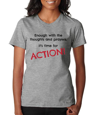 "CHARITY ""Time for Action"" T-shirt (Women's)"