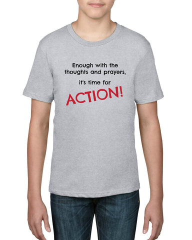 "CHARITY ""Time for Action"" T-shirt (Youth)"