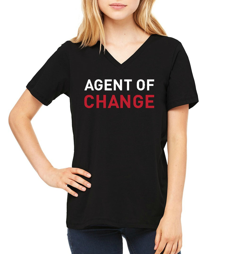"JLP Women's ""Agent of Change"" T-shirt"