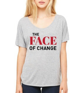 "JLP **LAST CHANCE** Women's ""Face of Change"" T-shirt"
