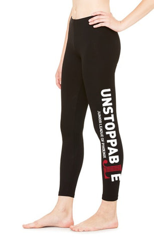 "JLP Women's ""Unstoppable"" Cotton Leggings"