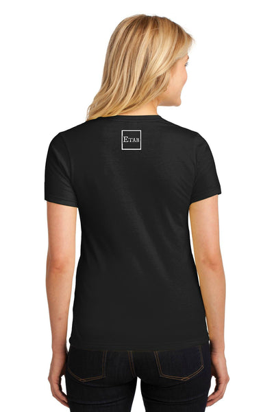 Women's T-shirt Back View
