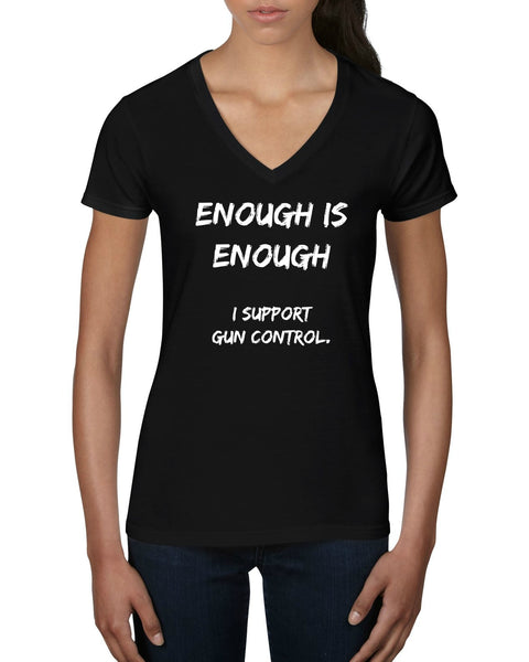 "CHARITY ""Enough is Enough"" T-shirt (Women's)"