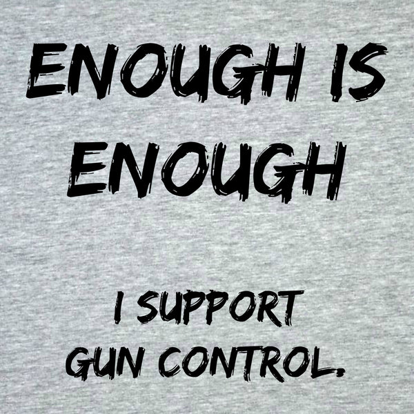 "CHARITY ""Enough is Enough"" T-shirt (Youth)"