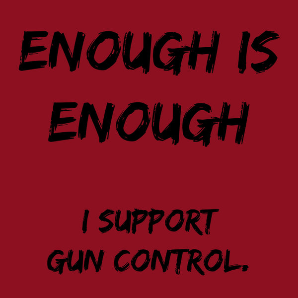 "CHARITY ""Enough is Enough"" T-shirt (Men's)"