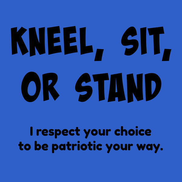 "CHARITY ""Kneel, Sit, or Stand"" T-shirt (Youth)"