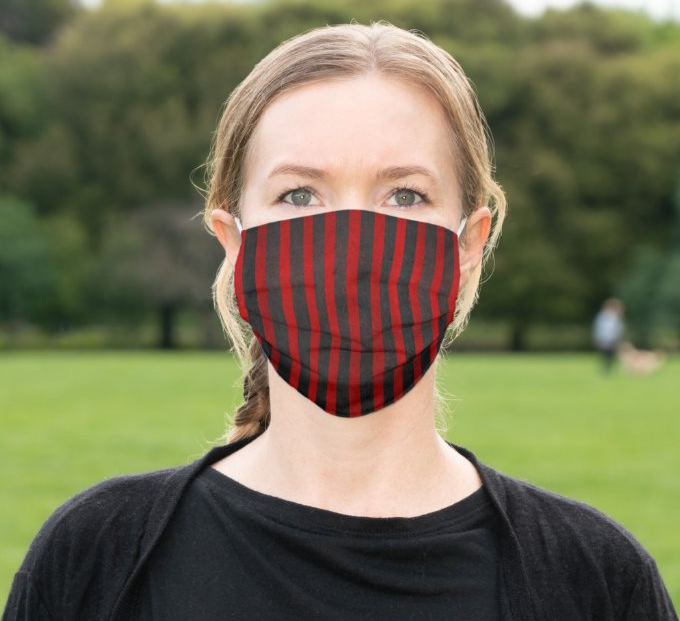 "Cloth Face Mask ""Stripes"""