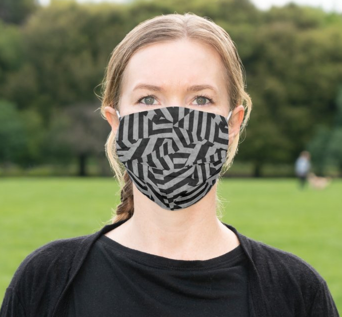 "Cloth Face Mask ""Labyrinth"""