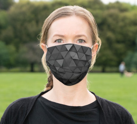 "Cloth Face Mask ""Graphic"""