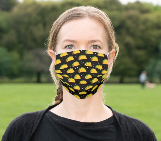 "Cloth Face Mask ""Tacos"""