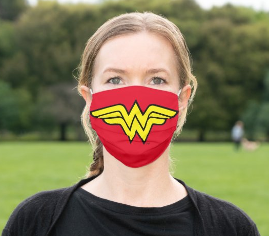 "Cloth Face Mask ""Wonder Woman Logo"""