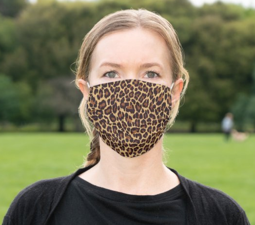 "Cloth Face Mask ""Leopard Print"""
