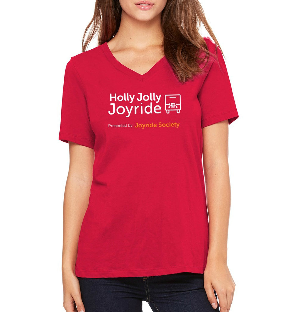 "Joyride Society Women's ""Holly Jolly"" T-shirt"