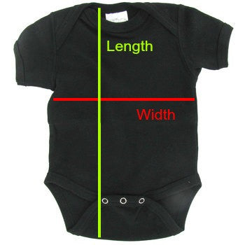 Infant Onesie Size Guide