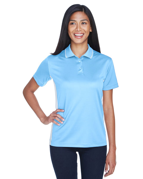 AZTEC Women's UltraClub Cool & Dry Sport Two-Tone Polo