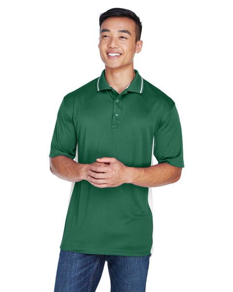 AZTEC Men's UltraClub Cool & Dry Sport Two-Tone Polo