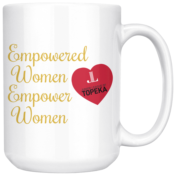 "JL Topeka ""Empowered Women"" Mug"