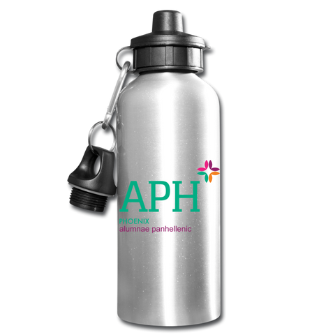 "PPA ""Logo"" Water Bottle - silver"