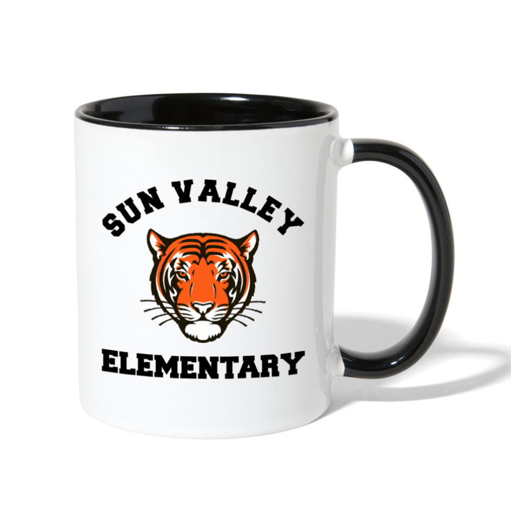 Sun Valley Contrast Coffee Mug - white/black