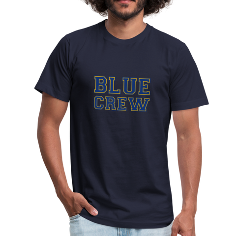 "SMHS Pom & Cheer Unisex ""Blue Crew"" T-shirt - navy"