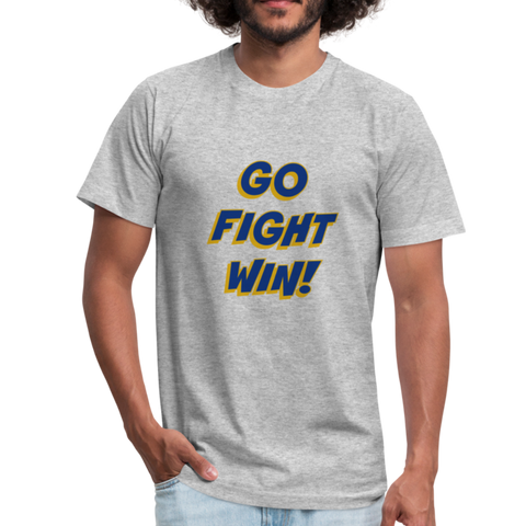 "SMHS Unisex ""Go, Fight, Win"" T-shirt - heather gray"