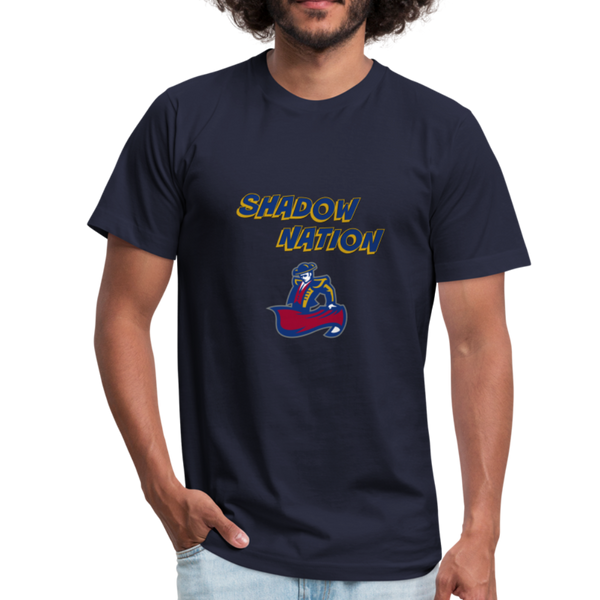 "SMHS Unisex ""Shadow Nation"" T-shirt - navy"