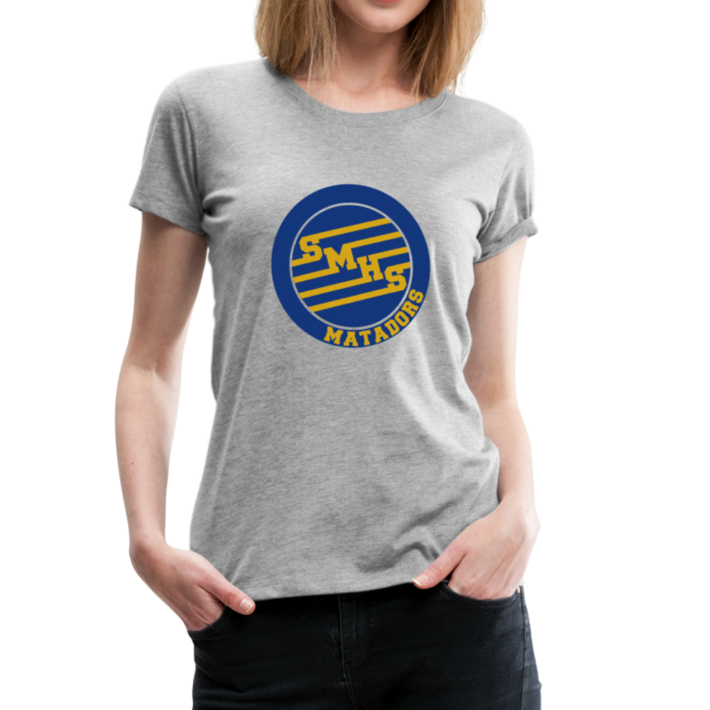 "SMHS *NEW* Women's ""Initials"" T-shirt - heather gray"