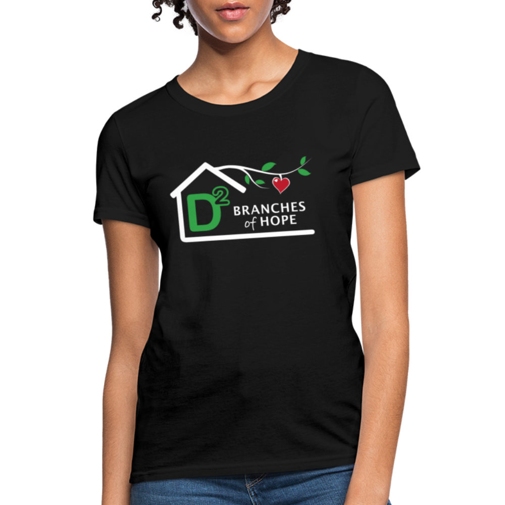 "D-Squared ""Branches of Hope"" Women's T-Shirt - black"