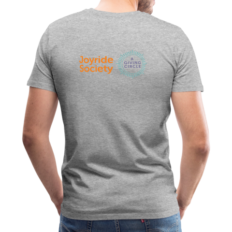 "Joyride Society ""Logo"" Unisex Premium T-Shirt - heather gray"