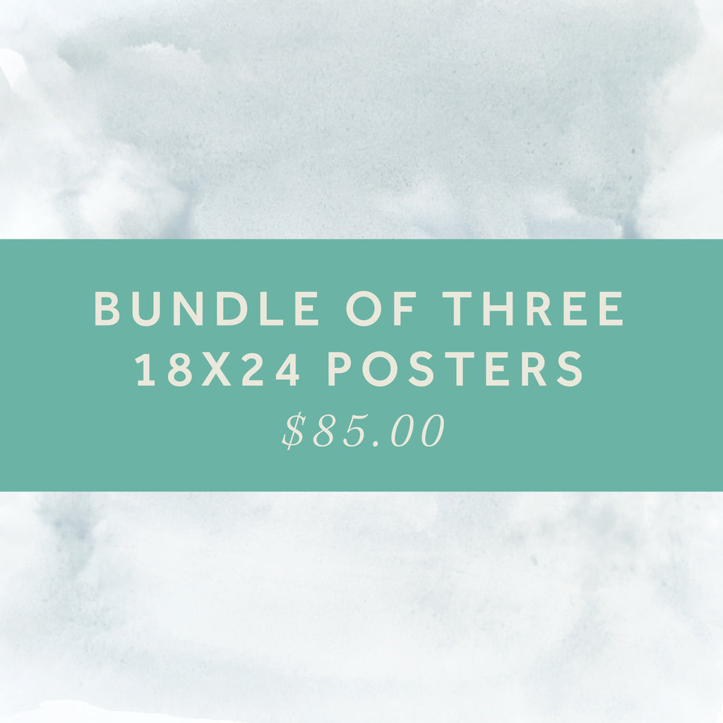 18x24 Posters - Bundle of 3