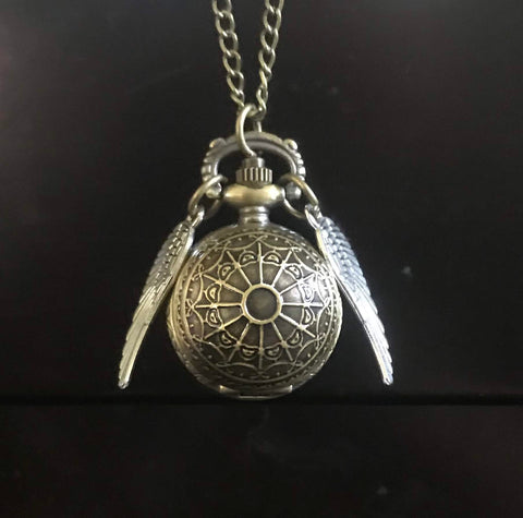 Harry Potter Golden Snitch Pocketwatch