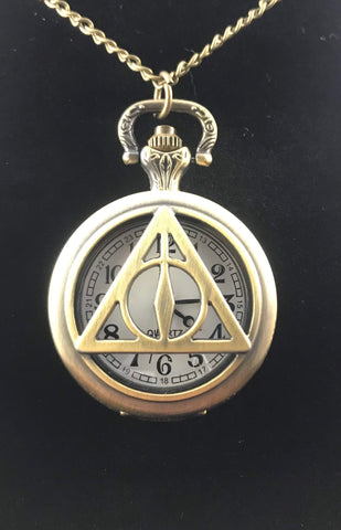 Harry Potter Deathly Hallows Pocketwatch
