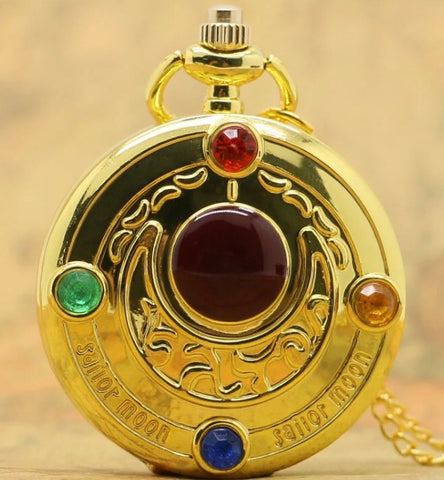 Sailor Moon Brooch Pocket Watch