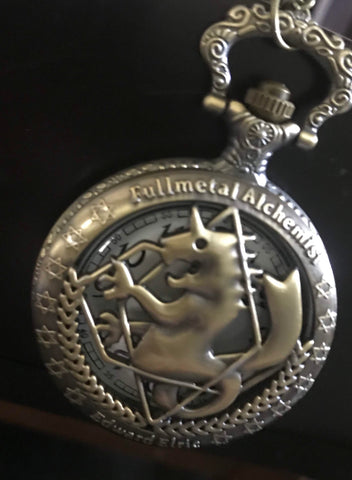 Full Metal Alchemist Bronzed Pocketwatch