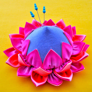 Protea Pincushion Pattern by Julie Creus of La Todera