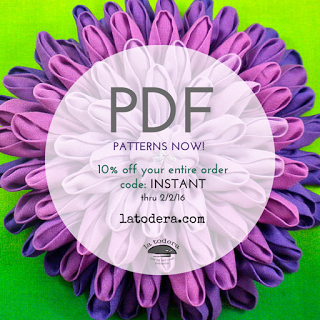 PDF Patterns in the House!! (Ok, in the online store!)