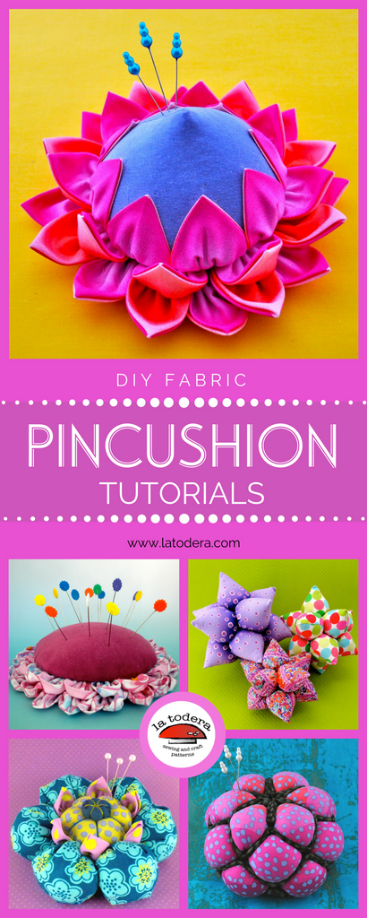 DIY pincushion tutorials la todera