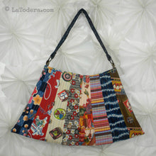 DIY Asian Fan Purse Tutorial - PDF Sewing Pattern - La Todera