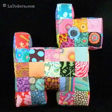 DIY Mama and Baby Patchwork Dog Pillows Tutorial - PDF Sewing Pattern - La Todera