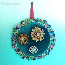 DIY Flower Pincushion Tutorial - PDF Sewing Pattern - La Todera