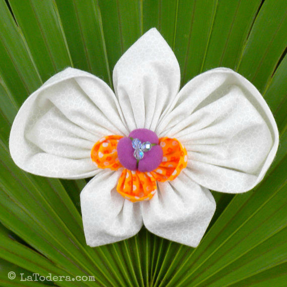 Phalaenopsis Orchid Brooch Pattern- Instant Download - La Todera