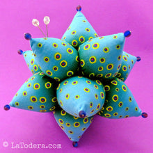 DIY Fabric Spiky Urchin Pincushion Tutorial - PDF Sewing Pattern - La Todera