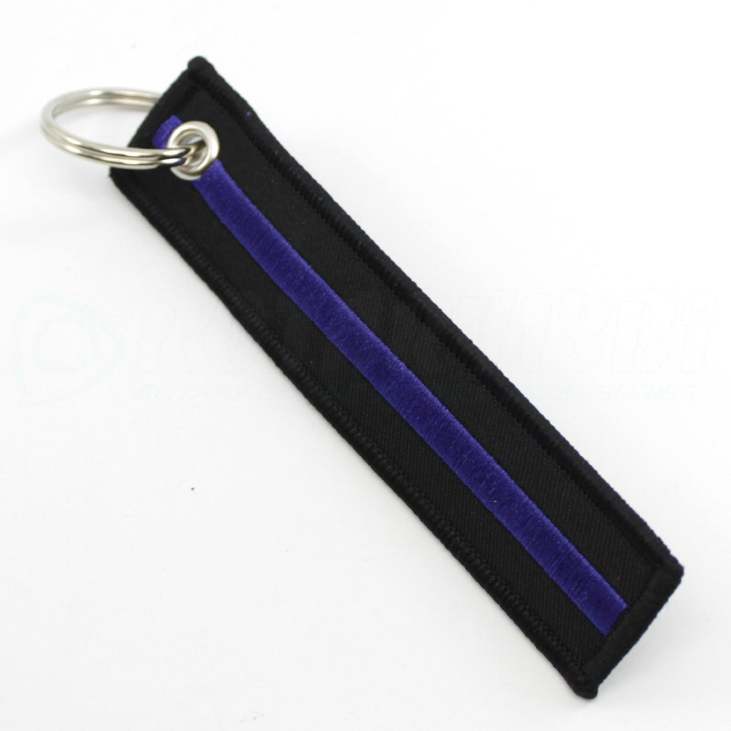 Thin Blue Line - Key Chain