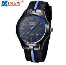 Load image into Gallery viewer, Thin Blue Line Inspired Watch